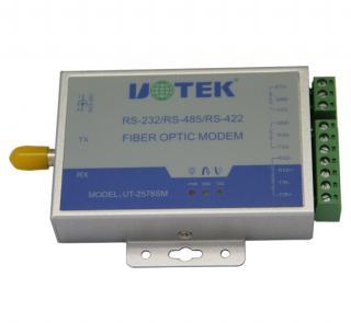 宇泰-单模单纤RS232/485/422串口转换器-UT-2578SM