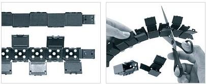 E1系统 - 模块化,一片式条形拖链