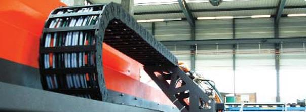 拖鏈電纜|塑料拖鏈|進口拖鏈|用于激光切割機的預裝配拖鏈系統