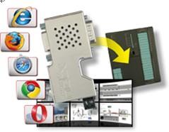德国赫优讯SIMATIC S7®网络监控接插式网关支持警报功能
