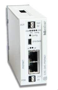 SmartWire-DT通过赫优讯实时以太网网关连入PROFINET网络
