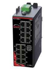 美国Sixnet工业以态网交换机SLX-16MS-1