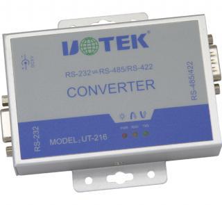 宇泰RS232到RS485/422有源转换器--UT-216