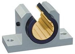枕块式直线滑动轴承|开口型直线导轨|滑块和直线导轨