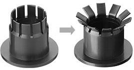 iglidur MKM - 双法兰轴承|法兰轴承|工程塑料轴承|易格斯双法兰轴承