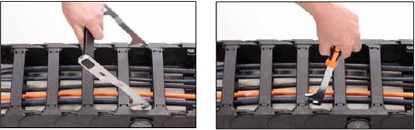 易格斯E4系列拖链上端横杆|用于下端横杆|用于上端横杆