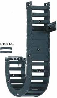 易格斯280系列拖链|塑料拖链|拖链电缆|低噪音高速度拖链