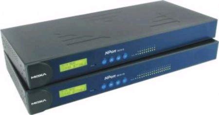 NPort 5650-16-M-SC总代理MOXA串口服务器