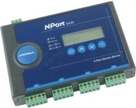 NPort 5430总代理MOXA 485串口服务器