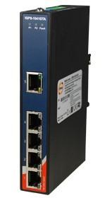 工业级导轨式千兆PoE以太网交换机-IGPS-1041GTA