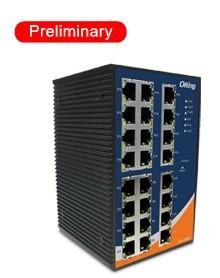 工业级导轨式快速以太网交换机--IES-3240