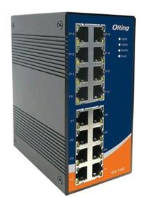 工业级导轨式快速以太网交换机-- IES-1160