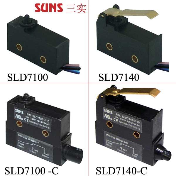 SLD7系列防水微动开关 (IP67)