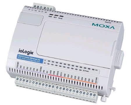 ioLogik E2212总代理 MOXA以太网I/O