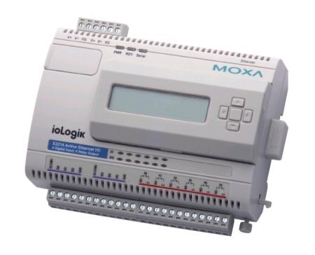ioLogik E2214总代理 MOXA工业I/O
