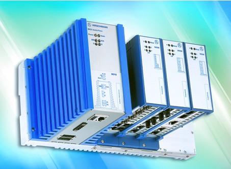 赫思曼第三代DIN导轨式工业以太网交换机PowerMICE系列
