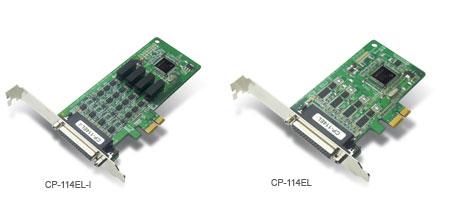 CP-114EL总代理MOXA PCI Express多串口卡
