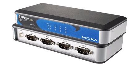 UPort 2410总代理MOXA USB转串口