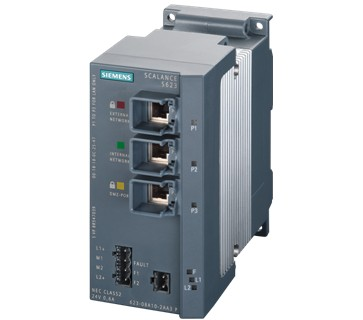 西门子SCALANCE S600 V3工业通讯安全模块
