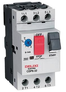 德力西电气CDP6电动机断路器