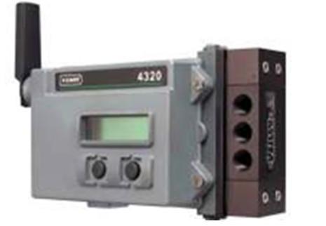 Fisher 4320型无线位置监控器