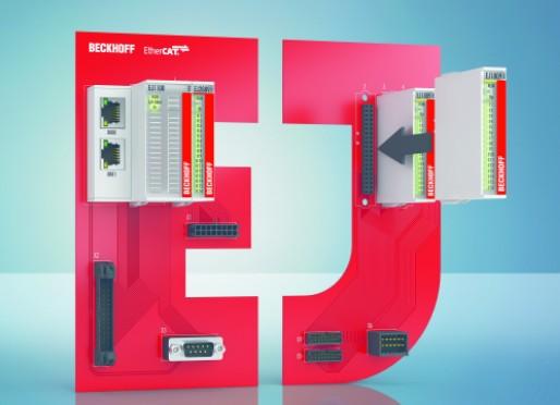 倍福'Plug & Work' — 线路板式总线端子模块
