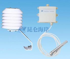 昆仑海岸室外型温湿度变送器套装JWSK-6ACC01+VS-6