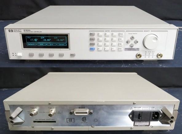 安捷伦 Agilent HP 8169A 光波偏振控制器