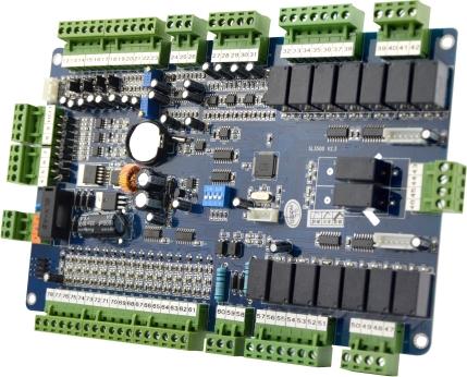 智能恒温控制板接线图