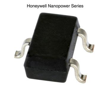 霍尼韦尔超低功耗磁阻传感器集成电路:Nanopower系列磁阻传感器