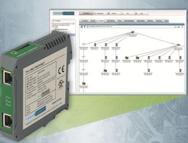 虹科电子TH SCOPE & TH Link 工业网络统一监测软件