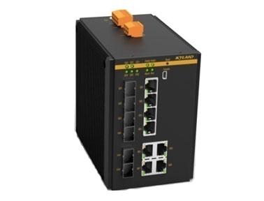 东土科技全球首款万兆卡轨工业以太网交换机SICOM3208G