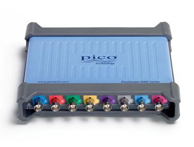 虹科电子PicoScope4824高分辨率8通道示波器