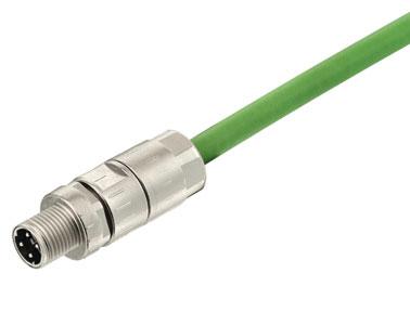 浩亭M12电缆组装