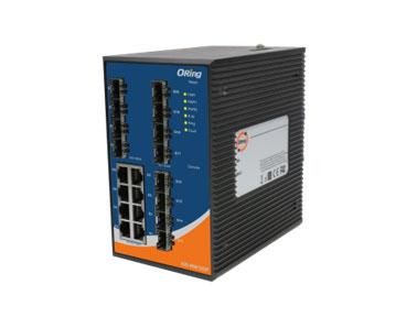 Oring工业用三层20口网管型千兆以太网交换机