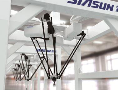 面向食品,药品,电子产品等行业,攻克高速并联机器人装备中的结构