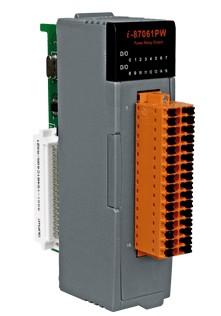 泓格通道功率继电器输出模块I-87061PW