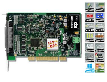 泓格通用型PCI总线高速多功能板卡PCI-2602U