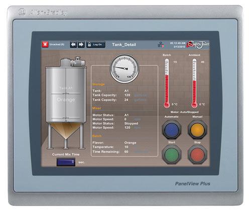 罗克韦尔自动化PanelView Plus 7增强型操作员界面