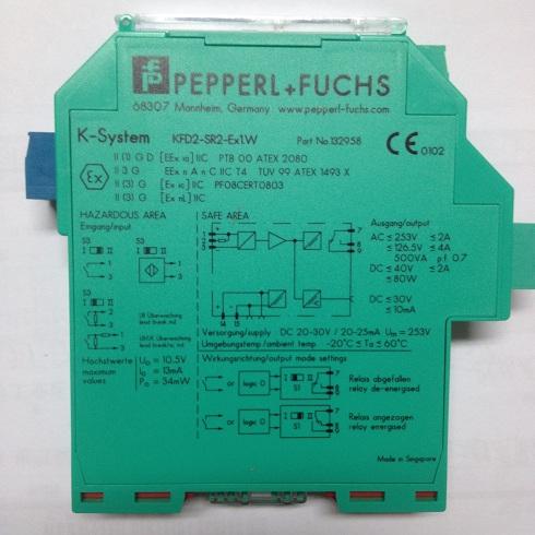 德国P+F安全栅KFD2-SR2-EX1.W