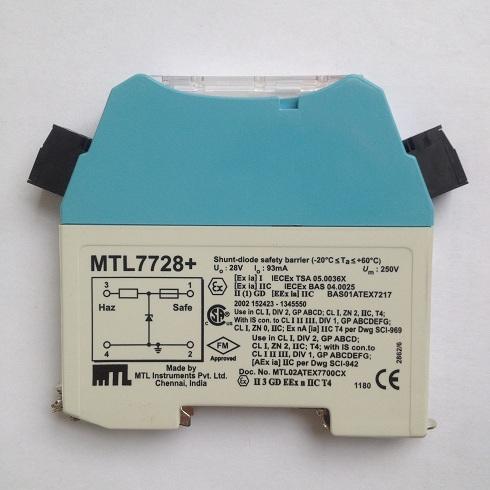 MTL齐纳式安全栅MTL7728+