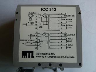 MTL信号隔离器ICC312