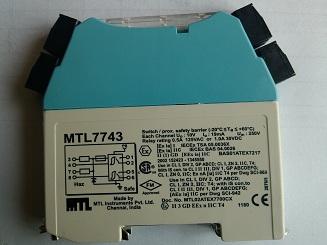 MTL齐纳式安全栅MTL7743