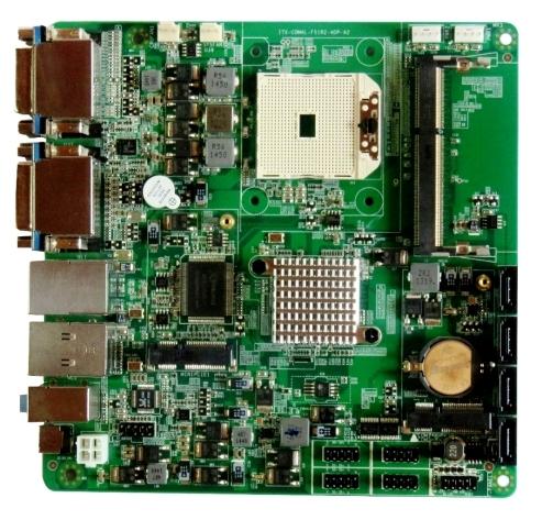 DEKON 4屏显示工控主板 ITX-A4DP