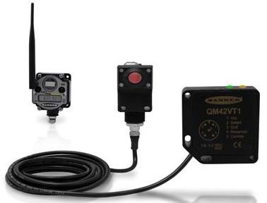 邦纳无线Q45振动温度传感器套装