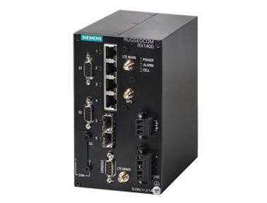 西门子RUGGEDCOM RX1400 4G LTE路由器可宽带无线联网