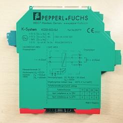 倍加福模拟量输出安全栅KCD2-SCD-EX1