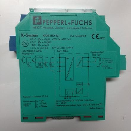 倍加福温度安全栅KFD2-UT2-EX1