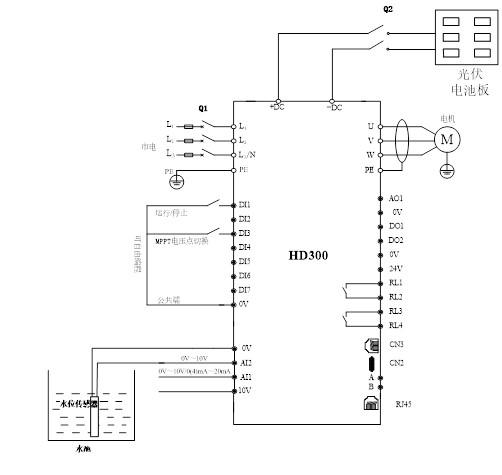 水泵电源怎么接线图解