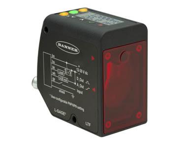 美国邦纳LTF系列激光测距传感器